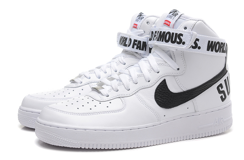 air force 1 blanche montante