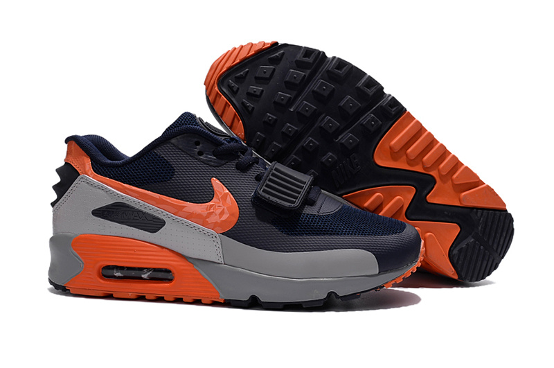 air max 90 hommes noir orange