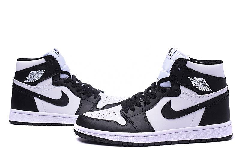 air jordan 1 blanche et noire